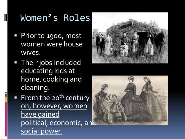 the changing roles of women essay The tools you need to write a quality essay or term paper essays related to the role of women in history 1 i had to wonder about the changing role of women.