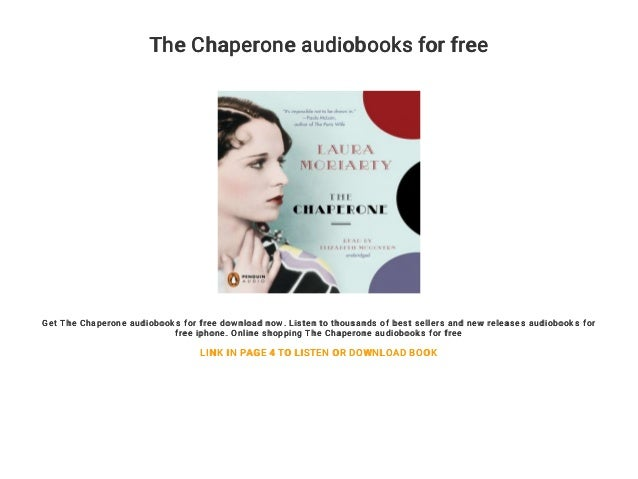 The Chaperone Book