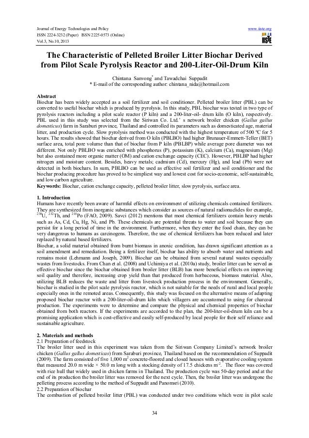 Journal of Energy Technologies and Policy ISSN 2224-3232 (Paper) ISSN 2225-0573 (Online) Vol.3, No.10, 2013  www.iiste.org...