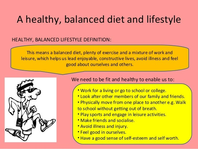 why is a healthy lifestyle important in school Teenagers and sleep  to feel in control about what's happening in their life healthy eating – school lunches  is an important part of health and wellbeing .