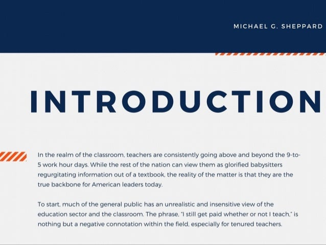 The Characteristics of a Good Teacher by Michael G. Sheppard Slide 2