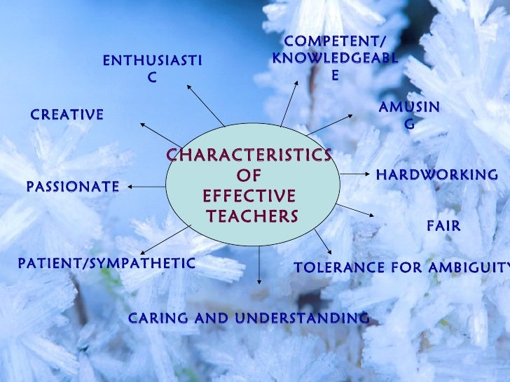 personality traits of a successful teacher Teachers personalities and teaching competencies successful teachers are little less than paragons if one is to jud from recent discussions and from reports of empirical observat and experimental research dealing with teachers' personalities writer lists nineteen desirable qualities, including integrity, matur dominance.