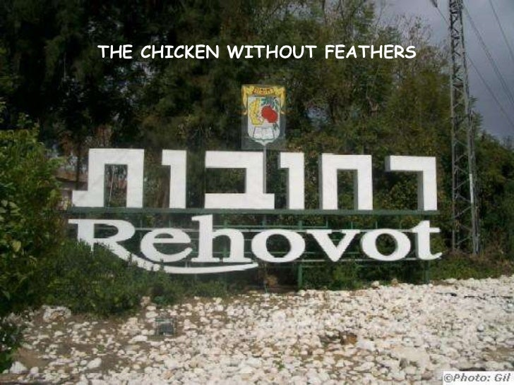 THE CHICKEN WITHOUT FEATHERS