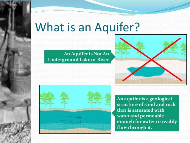 how to build an aquifer