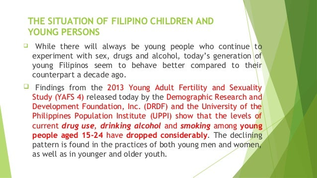 situation of the youth in the philippines