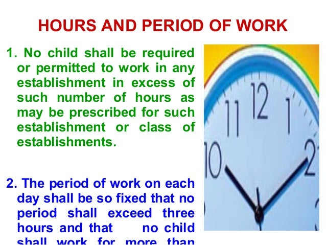 child labour prohibition and regulation act 1986 The child labour (prohibition and regulation) act, 1986 the act addresses itself to the issue of child labour which is social concern this act prohibits the engagement of children below the age of 14 years in certain employments and regulates the conditions of work of children in certain other employments.