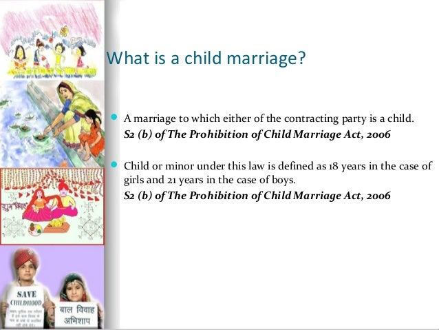 BY R.NANDHINI (12MSW021); 2. What is a child marriage?