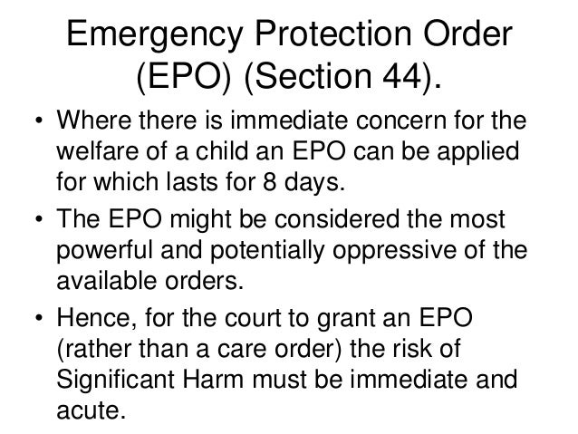 how childrens act 1989 protects children essay A history of child protection 1989 the children act 1989 gave every child the right to protection from abuse the protection of children act 1999 was.