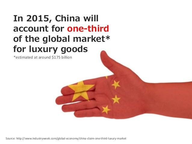 Chinese Luxury Market Essay