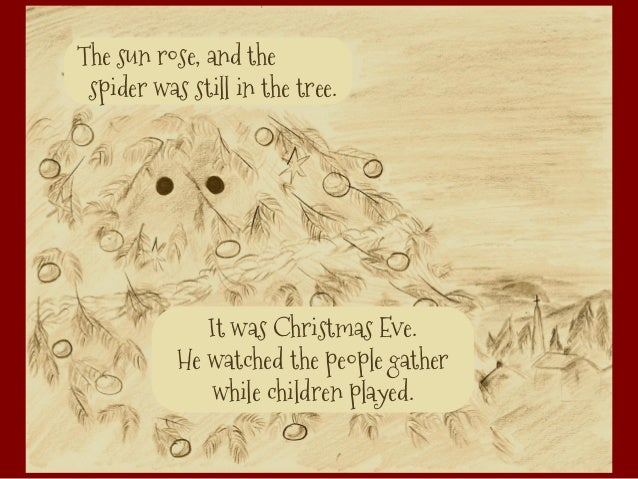 the - The Christmas Spider
