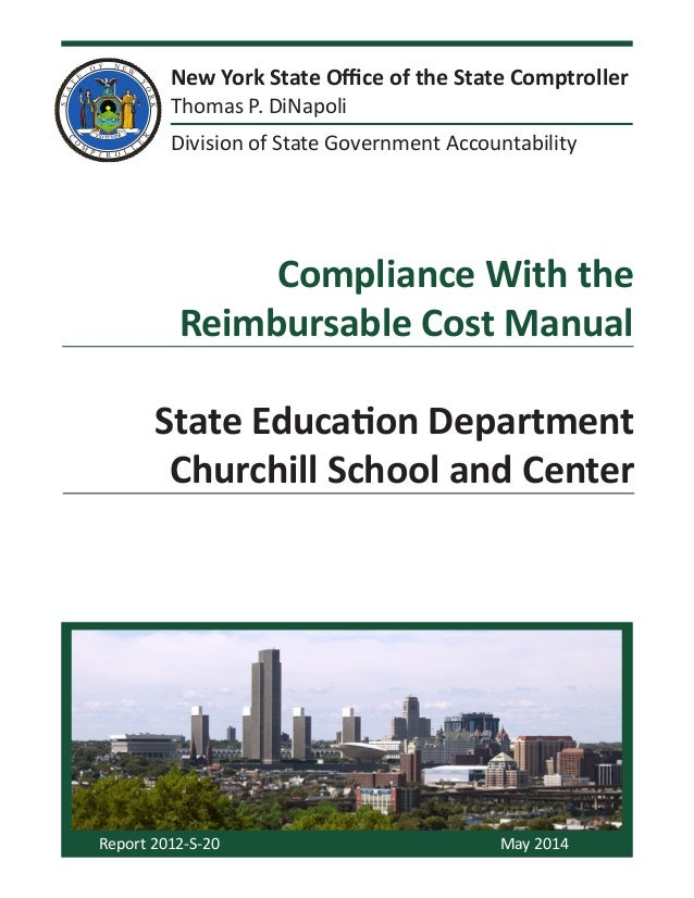 New York State Office of the State Comptroller Thomas P. DiNapoli Division of State Government Accountability Report 2012-...