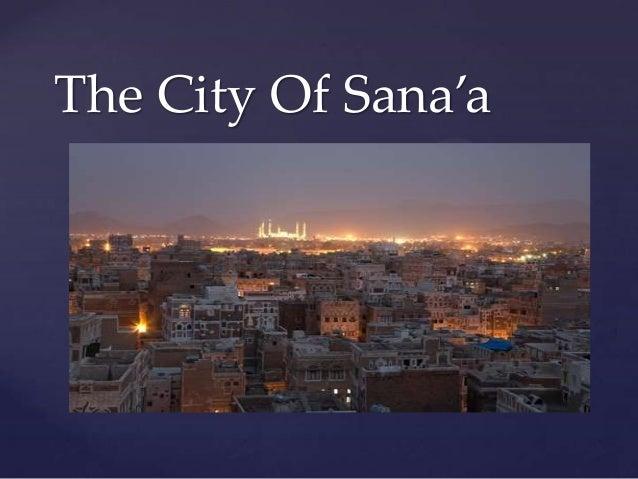The City Of Sana'a   {