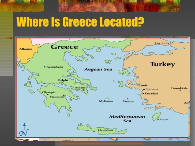 The City States Of Greece - Where is greece located