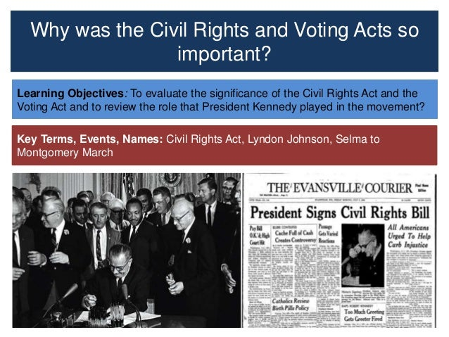learn themes civil rights voting