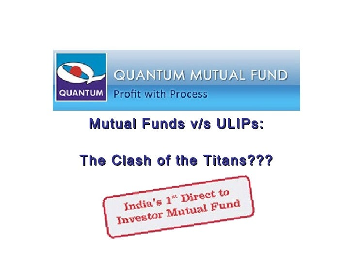 Mutual Funds v/s ULIPs: The Clash of the Titans???