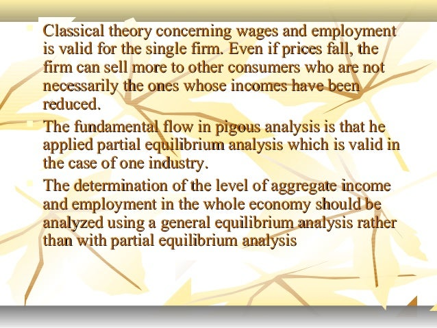 classical theory of income determination pdf