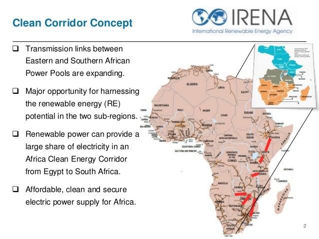 The Clean Energy Corridor Concept