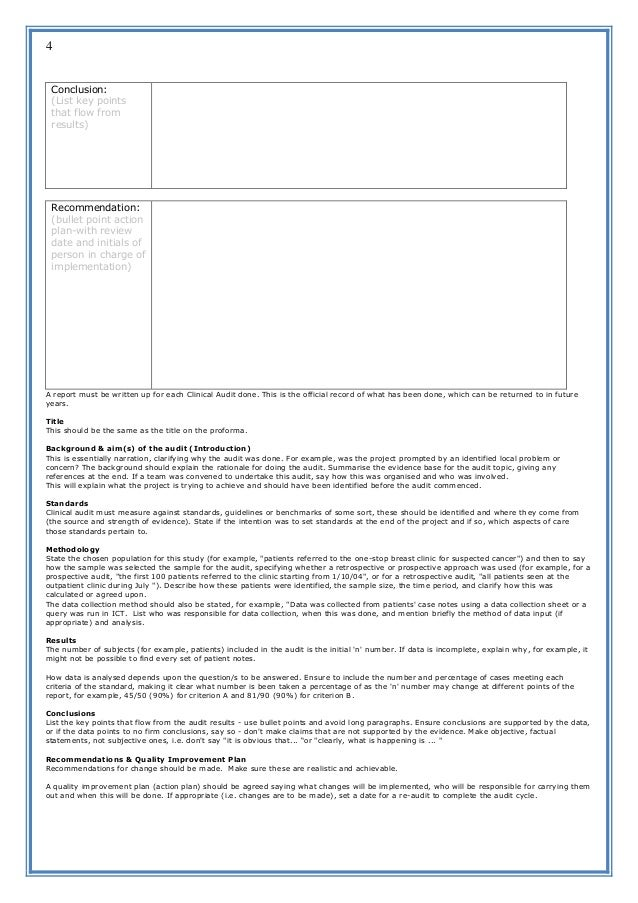 Audit report format vatozozdevelopment audit report format altavistaventures Image collections