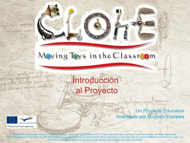 Introducción                                                            al Proyecto                                       ...