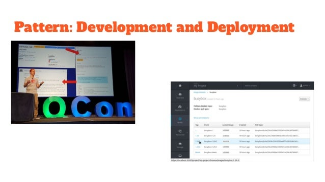 Pattern: CI/CD ● Make is easy to do the right thing ○ Self-service pipeline creations ○ Bake-in hooks/slots for platform ●...