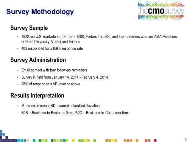 The CMO Survey Report February 2014 - Highlights and Insights Slide 3