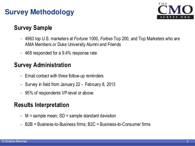 The CMO Survey Highlights and Insights February 2013 - Corrected Slide 3