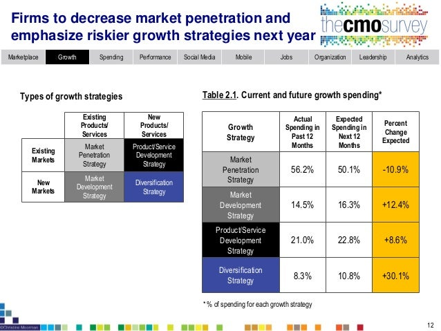 Marketplace Growth Spending Performance Social Media Mobile Jobs Organization Leadership Analytics Company sales through I...