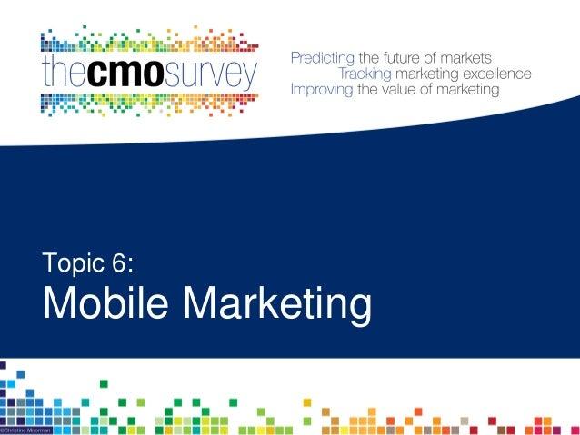 Marketplace Growth Spending Performance Social Media Mobile Jobs Organization Leadership Analytics Marketing spend on mobi...