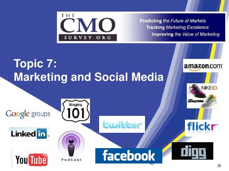 Topic 7: Marketing and Social Media                                  26                               26                  ...