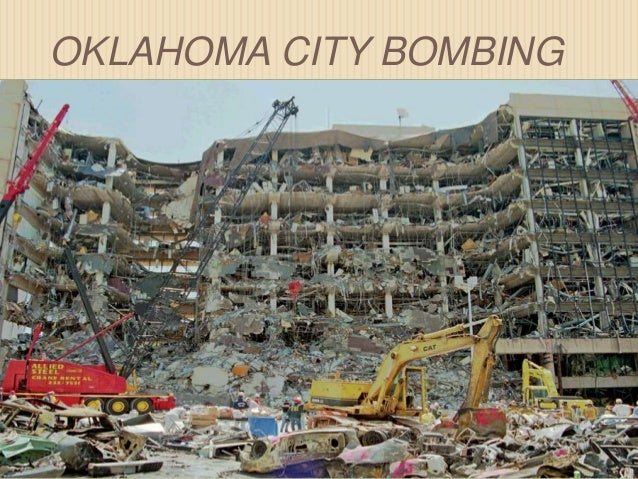 the oklahoma city bombing analysis The oklahoma city bombing analysis - on april 19, 1995, one hundred sixty-eight people were killed including nineteen children three hundred twenty-four other buildings within a sixteen block radius were also severely damaged because of a lack of national security.