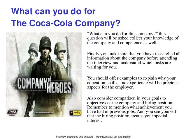 What Should Coca Cola Have Done?
