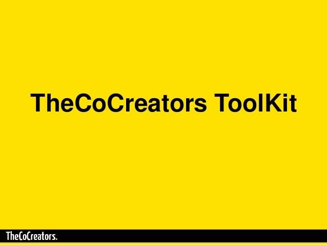 TheCoCreators ToolKit