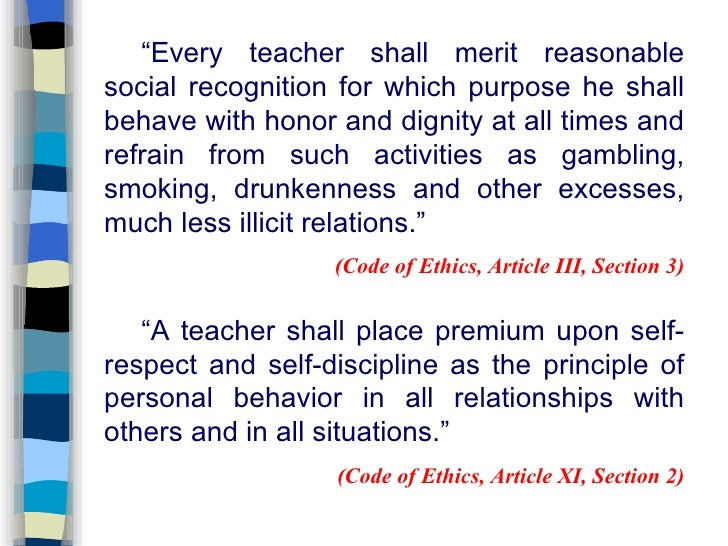 preamble code of ethics for teachers Saf code of ethics preamble teachers, researchers the purpose of this code of ethics is to protect and serve society by inspiring.