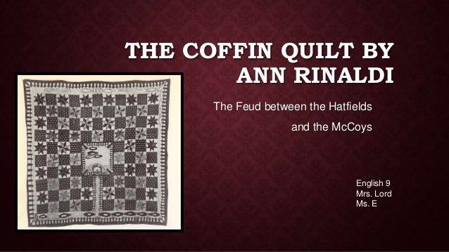 the coffin quilt by ann rinaldi rh slideshare net Coffin Pattern Quilting Fabric