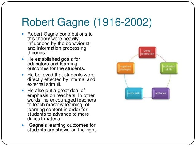 robert gagne theory