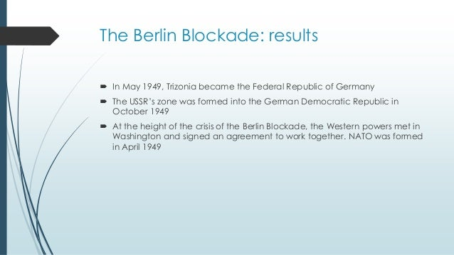 Cause of the berlin crisis