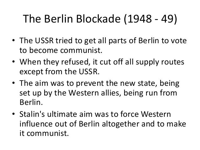 what were the major events in the development of the cold war Best answer: the cold war (1947–1991) was the continuing state of political conflict, military tension, proxy wars, and economic competition existing after world war ii (1939–1945), primarily between the soviet union and its satellite states, and the powers of the western world, particularly the united states.
