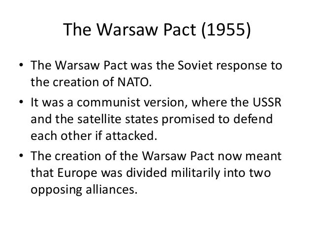 Edexcel Gcse History The Cold War 1945 91