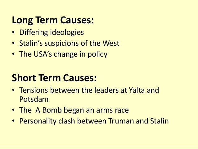 the clash of ideologies during the cold war Due to the superpower ideological rivalry during the cold war even it  the decreasing ideological clashes between the united states and russia manifested.