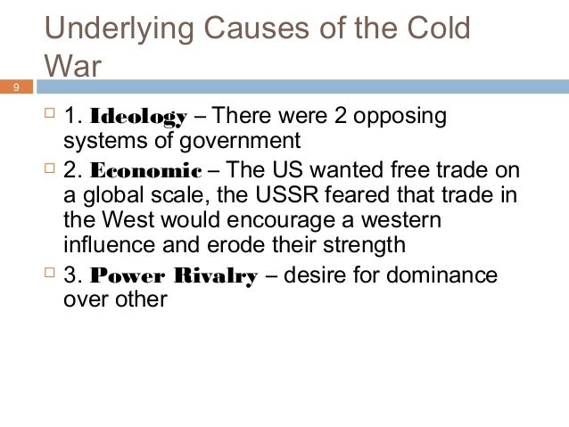 the effect of the cold war How did the us trade policy shift after the cold war.