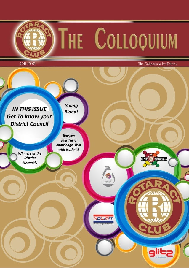 The Colloquium 1st Edition |Page | 1 Winners at the District Assembly Sharpen your Trivia knowledge -Win with NoLimit! You...