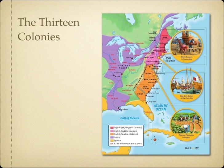 The Colonies Slide 2