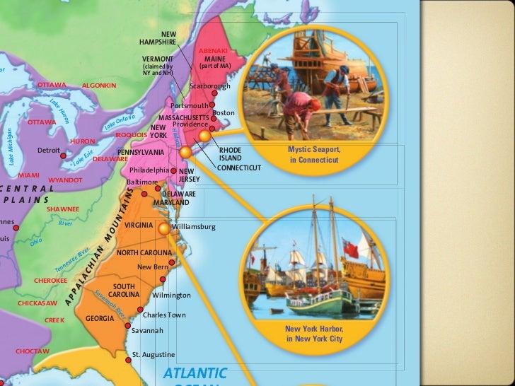 The Colonies Slide 3