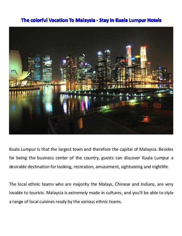 TheTheTheThe colorfulcolorfulcolorfulcolorful VacationVacationVacationVacation ToToToTo MalaysiaMalaysiaMalaysiaMalaysia -...