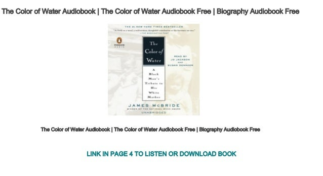 The Color of Water Audiobook | The Color of Water Audiobook Free | Bi…