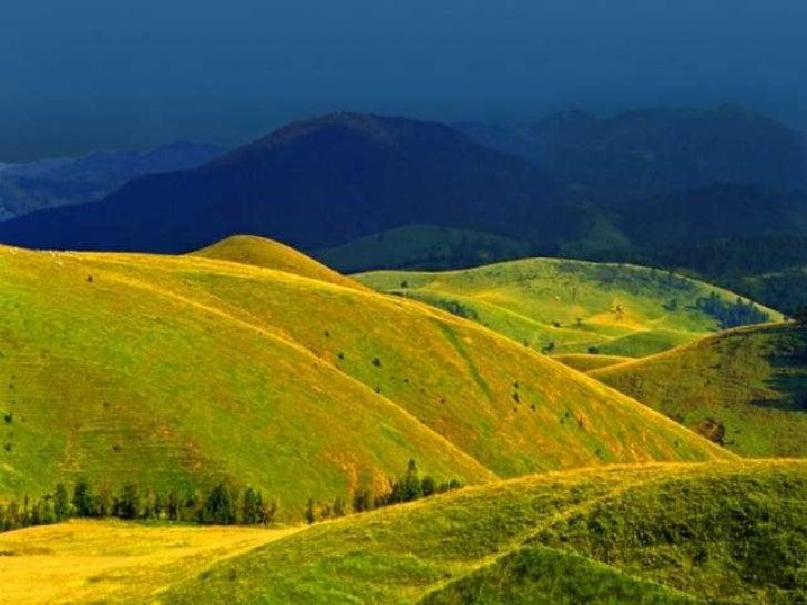 The colors of the hills (v.m.) Slide 3