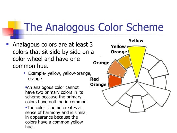 5 The Analogous Color