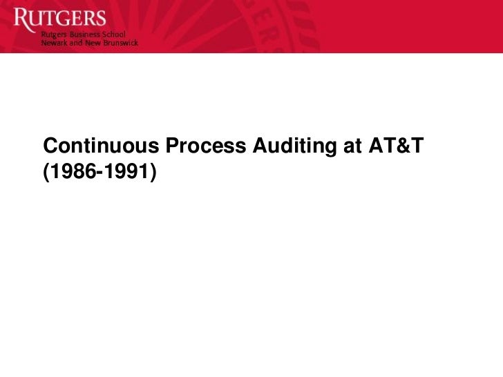 continuous auditing and monitoring and erp 2018-8-17  continuous monitoring vs continuous auditing typically, continuous monitoring is a management function to ensure that company policies, procedures, and business processes are operating effectively and addresses management's responsibility to assess the adequacy and effectiveness of internal controls.