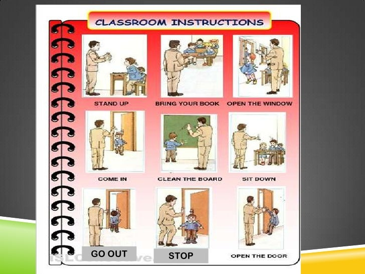 The commands and classroom language