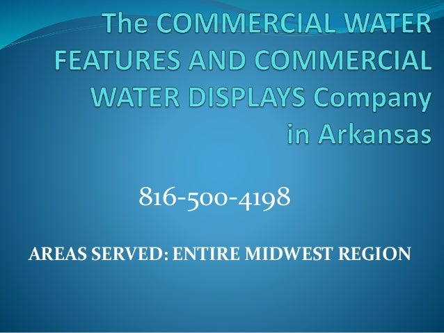 AREAS SERVED: ENTIRE MIDWEST REGION 816-500-4198